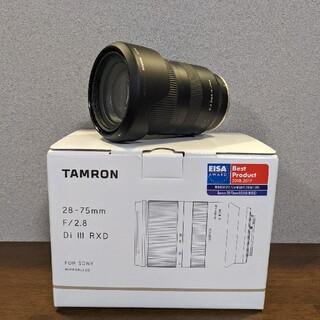 TAMRON - TAMRON 28-75F2.8 DI3 RXD(A036SE)28-75mm
