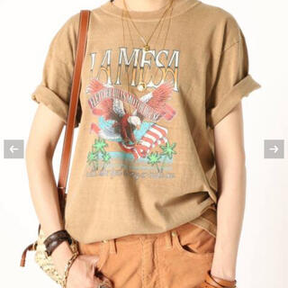 ドゥーズィエムクラス(DEUXIEME CLASSE)のMUSE de  Deuxieme CIasse  EAGLE Tシャツ(Tシャツ(半袖/袖なし))