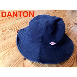 DANTON - DANTON コットンリネンハット ネイビー 帽子 綿麻