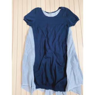 イエナ(IENA)のIENA ☆異素材ニットシャツ☆(Tシャツ/カットソー(半袖/袖なし))
