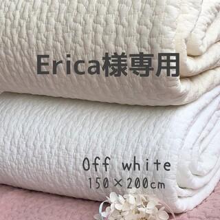 Erica様専用 韓国イブル クラウドオフホワイト ラグ カバー 150×200(ベビー布団)