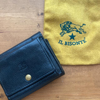 IL BISONTE - 【定価:28600円】イルビゾンテ コンパクトウォレット