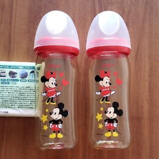 Pigeon - ピジョン ミッキー&ミニー プラスチック 哺乳瓶