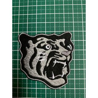 アイロンワッペン 阪神タイガース 虎 刺繍