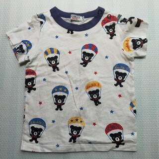 DOUBLE.B - ミキハウスダブルB Bくんパラシュート柄Tシャツ 90