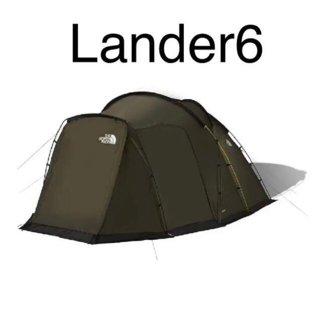THE NORTH FACE ランダー6(NV22100) スポーツ/アウトドアのアウトドア(テント/タープ)の商品写真