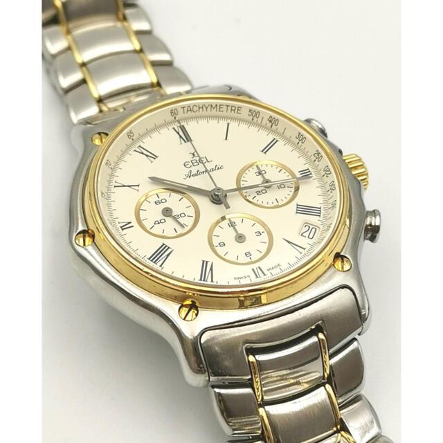 EBEL(エベル)のEBEL エベル 1911 クロノグラフ エルプリメロ YG/SS 時計 メンズの時計(腕時計(アナログ))の商品写真