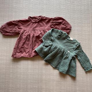 プティマイン(petit main)のプティマイン トップス 2着セット(Tシャツ/カットソー)