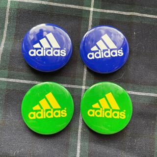 アディダス(adidas)のadidasバッヂ4個(バッジ/ピンバッジ)
