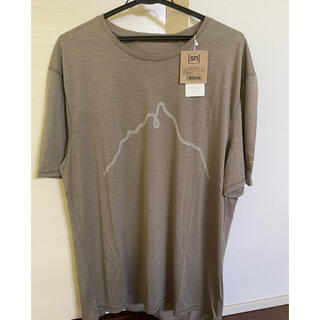 パタゴニア(patagonia)のアトリエブルーボトル Mt.KINPU GEZAN-T  新品未使用(Tシャツ/カットソー(半袖/袖なし))