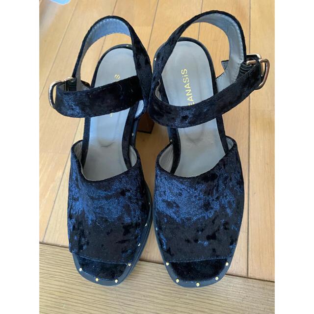 JEANASIS(ジーナシス)のJEANASIS サンダルM レディースの靴/シューズ(サンダル)の商品写真