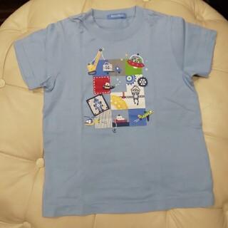 ファミリア(familiar)のファミリア 半袖Tシャツ 120 水色 ロボット(Tシャツ/カットソー)