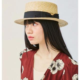 新品未使用 カオリノモリ カンカン帽