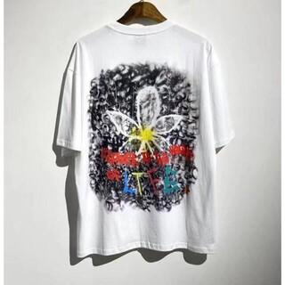 ピースマイナスワン(PEACEMINUSONE)のPEACEMINUSONE ホワイト メンズ M Tシャツ(Tシャツ/カットソー(半袖/袖なし))