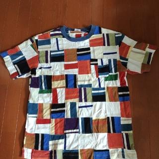 グッドイナフ(GOODENOUGH)のgoodenough 背ロゴパッチワークTシャツ グッドイナフ(Tシャツ/カットソー(半袖/袖なし))