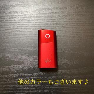 glo - G2445番glo 純正 本体 ミニシリーズ 限定カラー レッド 赤