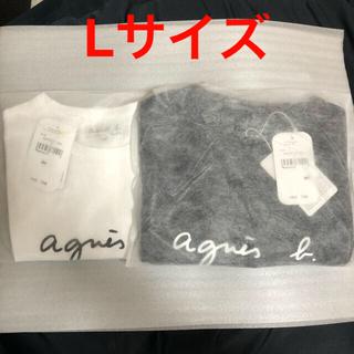 アニエスベー(agnes b.)のアニエスベー Tシャツ  L 半袖  Agnes b. レディース(Tシャツ(半袖/袖なし))