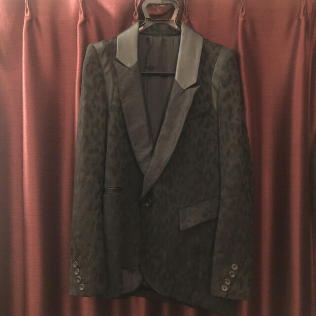 LGB(ルグランブルー)のifsixwasnine レオパードジャケット hyde着 メンズのジャケット/アウター(テーラードジャケット)の商品写真