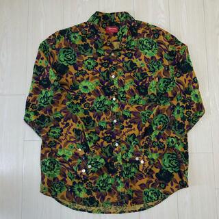 シュプリーム(Supreme)のSupreme Digi Floral Corduroy Shirt L(シャツ)