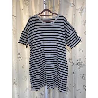 スライ(SLY)のSLY ボーダー Tシャツ カットソー(Tシャツ(長袖/七分))