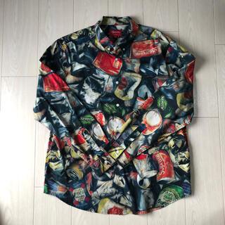 シュプリーム(Supreme)のsupreme cans shirt L(シャツ)