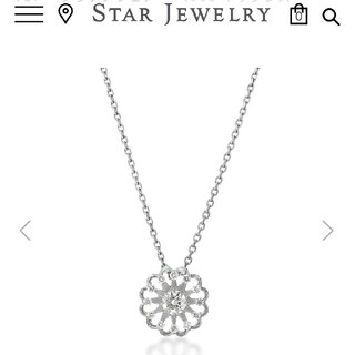 STAR JEWELRY - STAR JEWELRY ネックレス