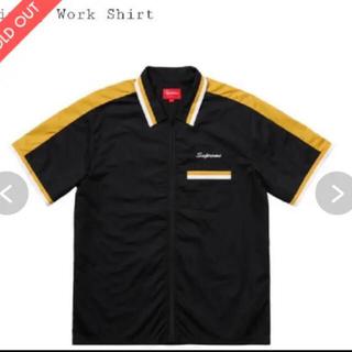 シュプリーム(Supreme)のシュプリーム Supreme ボーリングシャツ 黒 サイズ 新品 未使用L(シャツ)