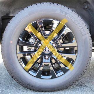 トヨタ(トヨタ)のミシュラン 新車外し タイヤのみ 4本セット 265/60/18(タイヤ)