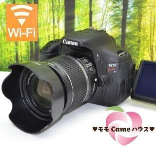 Canon - キヤノン Kiss X5☆液晶画面が動く一眼レフ♪スマホ転送OK☆1747
