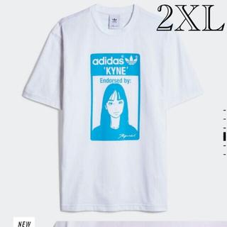 adidas - adidas × KYNE コラボTシャツ 希少2XLサイズ