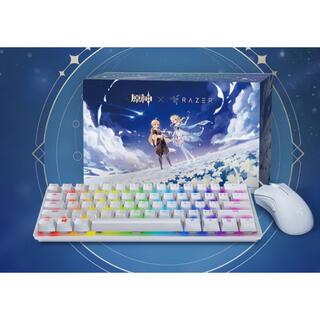 レイザー(LAZER)のRazer人気オンラインゲーム原神コラボ製品(グッズ有)(PC周辺機器)