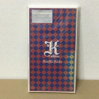 キンキキッズ(KinKi Kids)のK album  DVD付き初回限定盤(ポップス/ロック(邦楽))