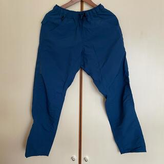 山と道 5-pocket pants S Azurite