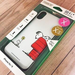 スヌーピー(SNOOPY)のスヌーピー IIfi+ iPhoneXs/ X スマホケース SNG302D(iPhoneケース)