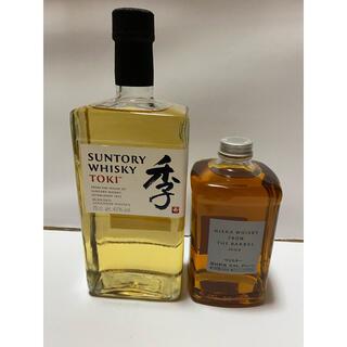 サントリー(サントリー)のサントリーウイスキー 季700ml+ニッカウヰスキー フロムザバレル500ml(ウイスキー)