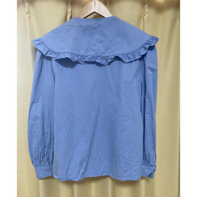 ZARA(ザラ)のZARA 襟付きブラウス レディースのトップス(シャツ/ブラウス(長袖/七分))の商品写真