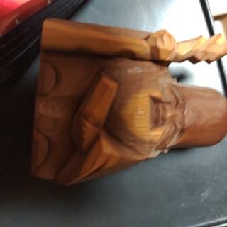木彫り、七福神(彫刻/オブジェ)