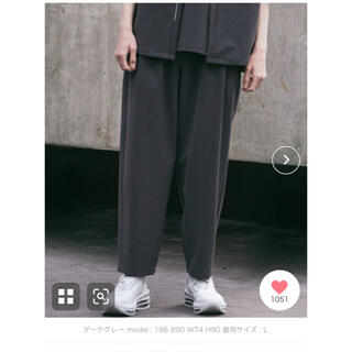 ATTACHIMENT - 【WYM×ATTACHMENT】 LOOSE TAPERED PANTS