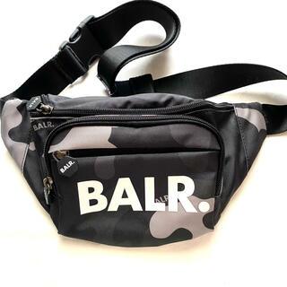 BALR. ボーラー カモフラ ウエストパック 美品 ユニセックス