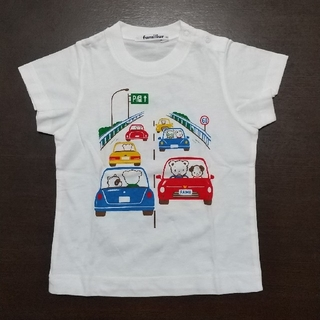 familiar - 新品未使用 ファミリア半袖Tシャツ 90