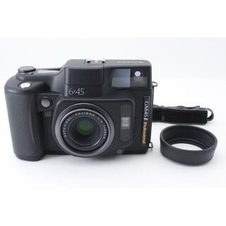 ★美品★ Fuji Fujifilm GA645i Pro ブラック カッコイイ