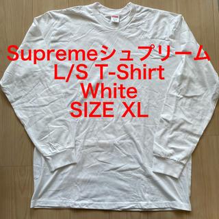 シュプリーム(Supreme)のSupremeシュプリーム L/S T-Shirt  White SIZE XL(Tシャツ/カットソー(七分/長袖))