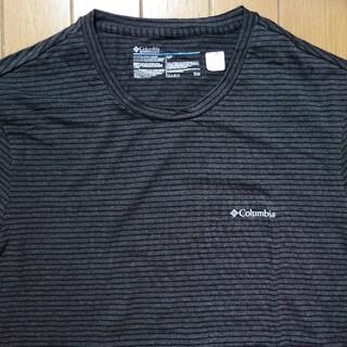 コロンビア(Columbia)の新品 コロンビア ワンポイントロゴ  ボーダーTシャツ(Tシャツ/カットソー(半袖/袖なし))