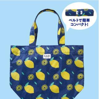 カルディ(KALDI)のカルディ 新品 レモンバッグ2021(トートバッグ)