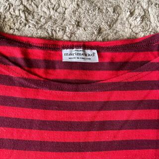 マリメッコ(marimekko)のmarimekko ボーダーティシャツ 北欧 可愛い モダン(Tシャツ/カットソー(七分/長袖))