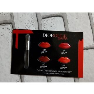 ディオール(Dior)のDior口紅 お試しセット試供品(口紅)