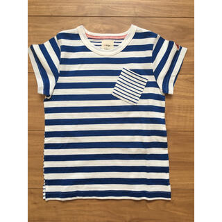 ハッカキッズ(hakka kids)のオレンジハッカ  半袖Tシャツ 120センチ 新品(Tシャツ/カットソー)