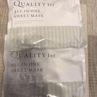 クオリティファースト(QUALITY FIRST)のクオリティファースト オールインワン シートマスク(パック/フェイスマスク)