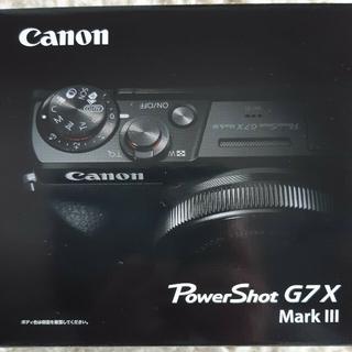 Canon - [新品、未開封] Canon G7X Mark III PSG7XMK3(BK)