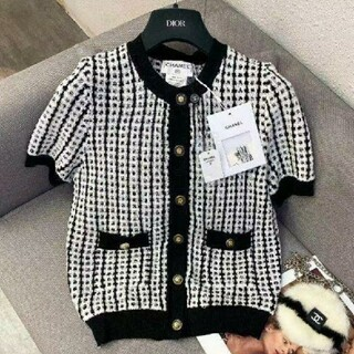 CHANEL - CHANEL  セーター 半袖